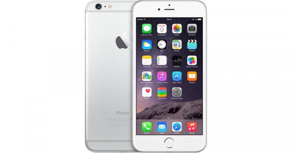 Apple iPhone 6 64GB - Silber